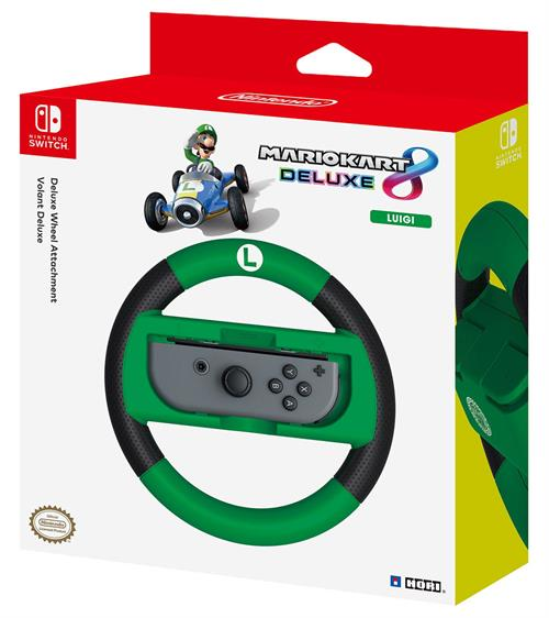 Mariokart 8 Deluxe Wheel Attachment - Luigi