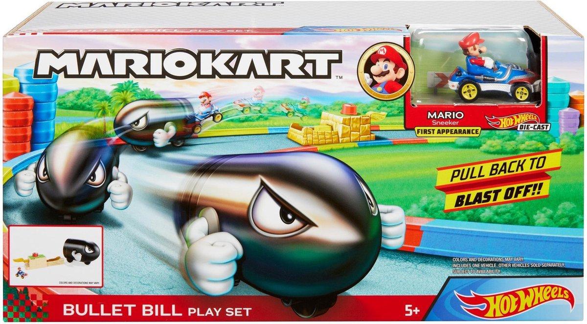 Mario Kart Bullet Bill Play Set